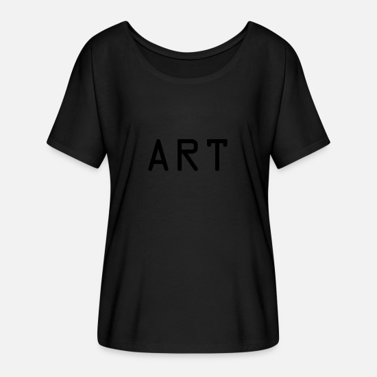 Painter T-Shirts - ART - Women's Batwing T-Shirt black
