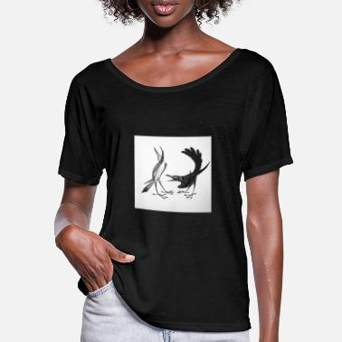 Illustration Illustration - Frauen Fledermaus T-Shirt