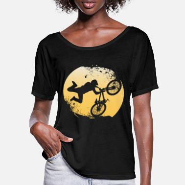 Bmx BMX - Frauen Fledermaus T-Shirt