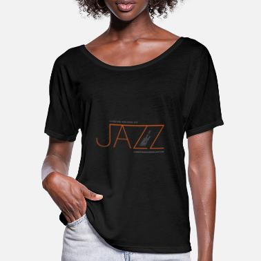 Radio Jazz at La Montaña Rusa Radio Jazz - Women's Batwing T-Shirt