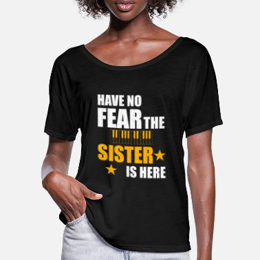 Scare Keyboard sister scared - Women's Batwing T-Shirt