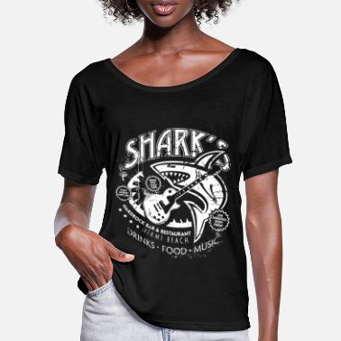 Hardrock Shark´s Hardrock Bar & Restaurant - Frauen Fledermaus T-Shirt