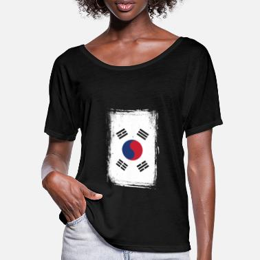 South Korea - Women's Batwing T-Shirt