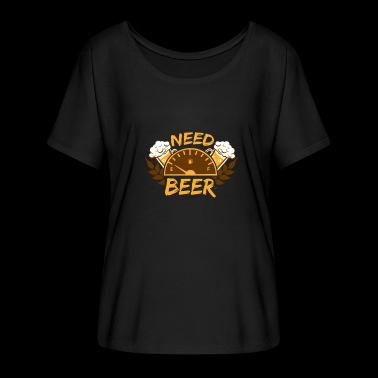 Need Beer Beer is needed - Women's Batwing-Sleeve T-Shirt by Bella + Canvas