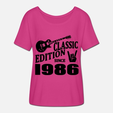 Since 1986 Classic edition since 1986 - Women's Batwing-Sleeve T-Shirt by Bella + Canvas