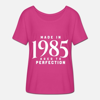 Made In 1985 MADE IN 1985 - Women's Batwing-Sleeve T-Shirt by Bella + Canvas