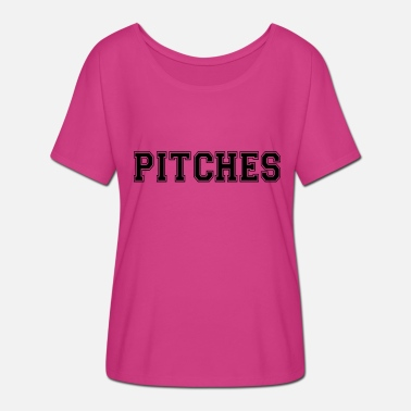 Pitch pitches - Women's Batwing T-Shirt