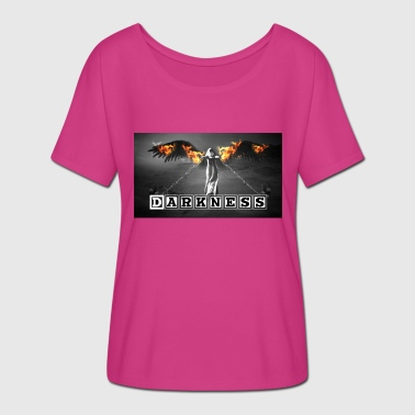 Darkness - Caught in the dark! - Women's Batwing-Sleeve T-Shirt by Bella + Canvas