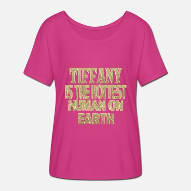 Tiffany Tiffany - Women's Batwing-Sleeve T-Shirt by Bella + Canvas