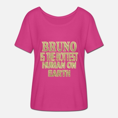 Bruno Bruno - Women's Batwing-Sleeve T-Shirt by Bella + Canvas