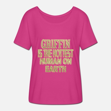 Griffin Griffin - Women's Batwing-Sleeve T-Shirt by Bella + Canvas