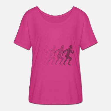 Sports Lover Runner Runner Jogger sports lover - Women's Batwing-Sleeve T-Shirt by Bella + Canvas