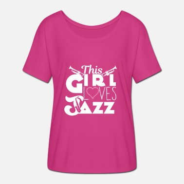 Jazz Musicians Jazz - jazz musician - musician - musician - saxophone - Women's Batwing-Sleeve T-Shirt by Bella + Canvas