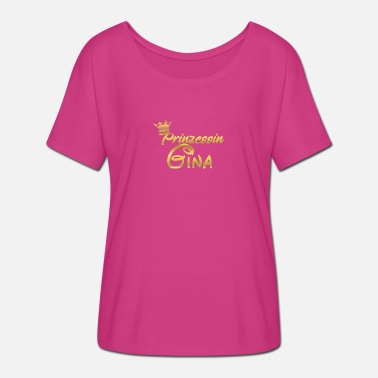 Princess Queen PRINCESS PRINCESS QUEEN GINA - Women's Batwing-Sleeve T-Shirt by Bella + Canvas