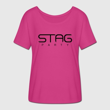 Stag party bachelor party - Women's Batwing-Sleeve T-Shirt by Bella + Canvas