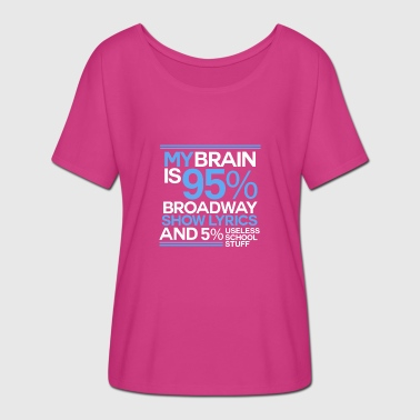 Musicals Musical Theatre Musical theater - Women's Batwing-Sleeve T-Shirt by Bella + Canvas