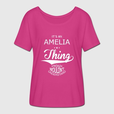 Amelia Amelia - Women's Batwing-Sleeve T-Shirt by Bella + Canvas