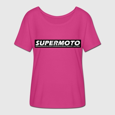 Supermoto - Women's Batwing-Sleeve T-Shirt by Bella + Canvas