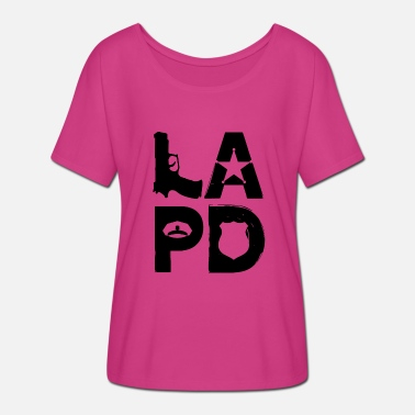 Lapd LAPD POLICE Gift idea - Women's Batwing-Sleeve T-Shirt by Bella + Canvas