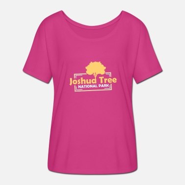 Nationalpark US-Nationalparks: Joshua Tree Nationalpark - Frauen T-Shirt mit Fledermausärmeln von Bella + Canvas