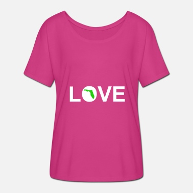 Love Florida Love Florida - Women's Batwing-Sleeve T-Shirt by Bella + Canvas