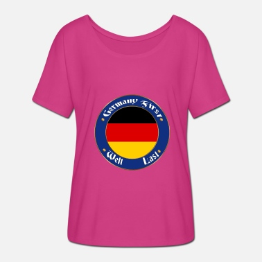 North Rhinewestphalia germany first - Women's Batwing-Sleeve T-Shirt by Bella + Canvas