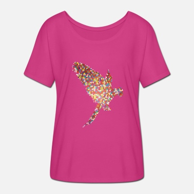 Parrot Gift Idea Design Graphic Art Exclusive - Women's Batwing T-Shirt