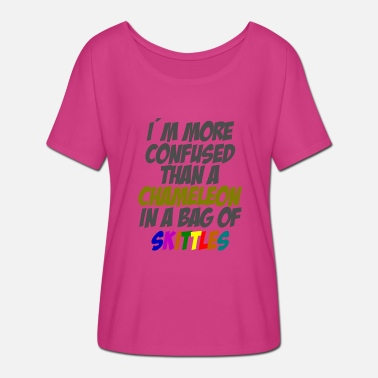 To Skittle Chameleon Skittles - Women's Batwing-Sleeve T-Shirt by Bella + Canvas