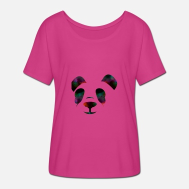 Groovy Ours Groovy - T-shirt manches chauve-souris Femme Bella + Canvas