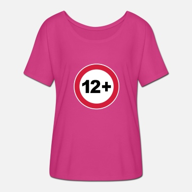 12 Birthday 12th birthday / 12 / birthday / birthday - Women's Batwing-Sleeve T-Shirt by Bella + Canvas