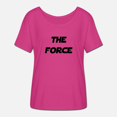 The Force Awakens force - Women's Batwing-Sleeve T-Shirt by Bella + Canvas