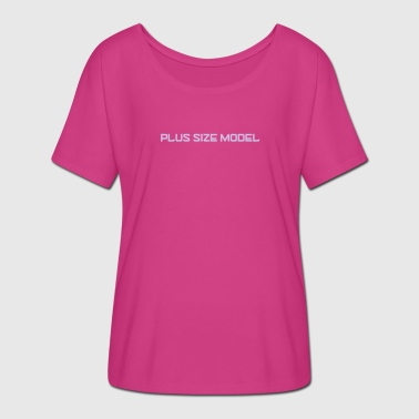 Plus Size Logo - Women's Batwing-Sleeve T-Shirt by Bella + Canvas
