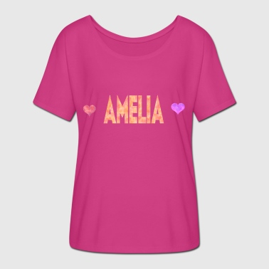 Amelia - Women's Batwing-Sleeve T-Shirt by Bella + Canvas