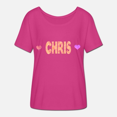 Chris Brown Chris - Women's Batwing-Sleeve T-Shirt by Bella + Canvas