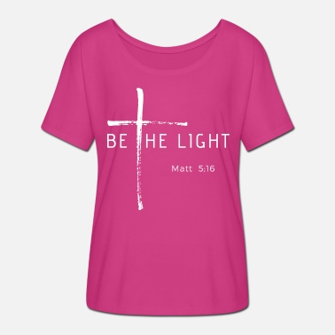Light be the light - Women's Batwing T-Shirt