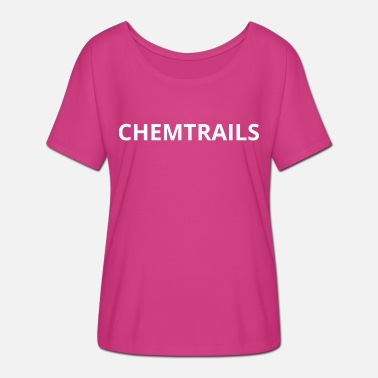 Weather Manipulation chemtrails - Women's Batwing T-Shirt