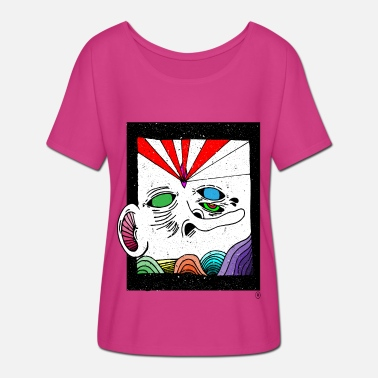 Abstract abstract - Women's Batwing T-Shirt