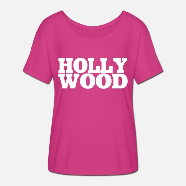 Hollywood Hollywood - T-shirt manches chauve-souris Femme