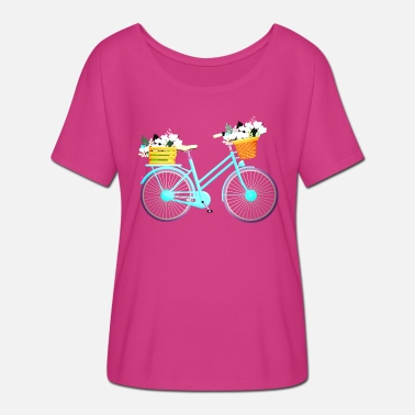Bicyclette BIKE - BICYCLE - BICYCLE - BICYCLETTE - VELO LOVE - Women's Batwing T-Shirt