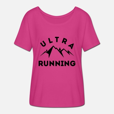 Ultras Ultra Running - Women's Batwing T-Shirt
