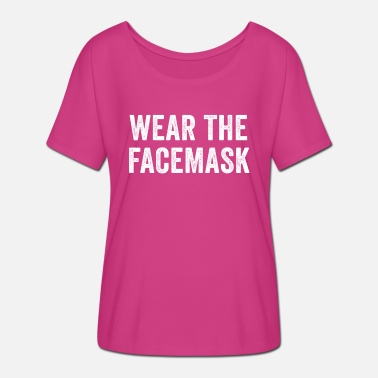 Facemask Wear The Facemask - Women's Batwing T-Shirt