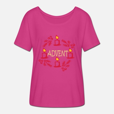 Advent Advent - Women's Batwing T-Shirt