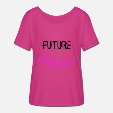 57bad81405d future mariee rose flashy T-shirt premium Femme