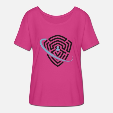 Protective Symbol Strong protection symbol - Women's Batwing T-Shirt