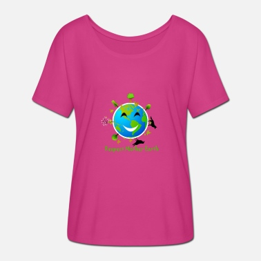 Mother Earth mother Earth - Women's Batwing T-Shirt