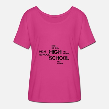 Highschool Highschool - Frauen Fledermaus T-Shirt