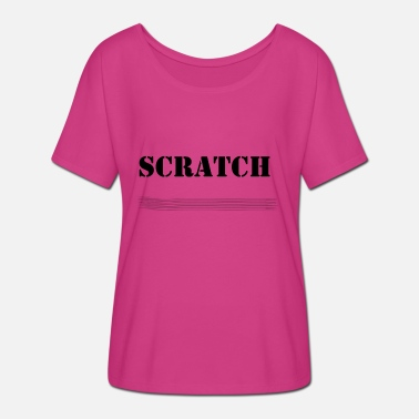 Scratch Scratch - Frauen Fledermaus T-Shirt