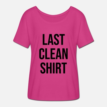 Last Ninja Last clean shirt - Frauen Fledermaus T-Shirt