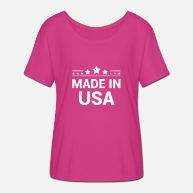 Made In Usa Made in USA, Vintage - Frauen Fledermaus T-Shirt