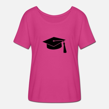 Exam graduation hat v2 - Women's Batwing T-Shirt